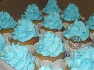 Amor De Cupcake Anjinhos Azul E Branco