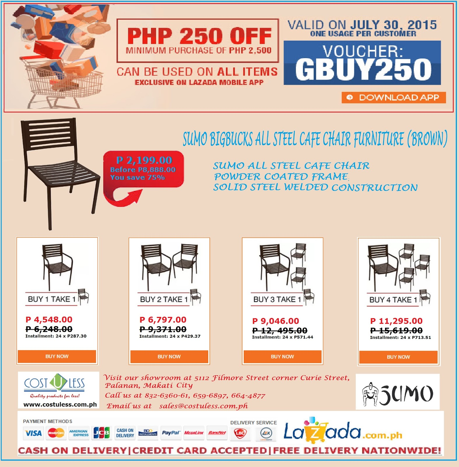 aluminum chairs for sale philippines. p250.00 discount on sumo aluminum bigbucks chair chairs for sale philippines o