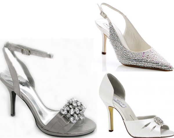 Silver Weding Shoes For Bride 02 - Silver Weding Shoes For Bride