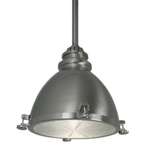 Home Decorators Collection Lighting brimfield 1 light aged iron outdoor wall lantern Home Decorators Collection Brushed Nickel Dome Pendant