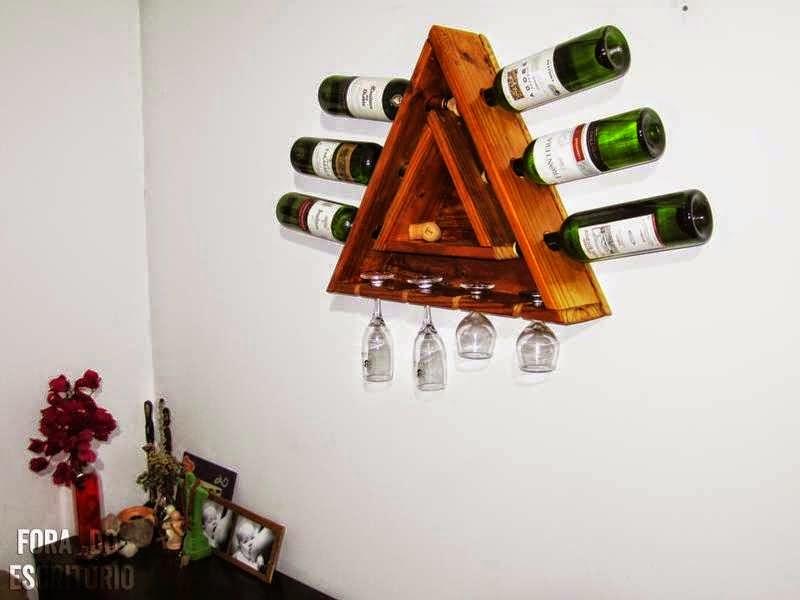 Ideas de regalos de navidad hechos - Muebles para poner botellas de vino ...