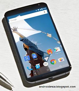 Spesifikasi Nexus 6 - Smartphone Pertama dengan OS Android Lollipop