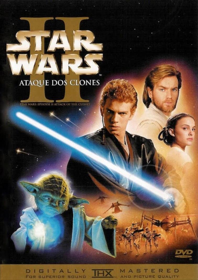 Star Wars: Episódio 2 – Ataque dos Clones – Legendado (2002)