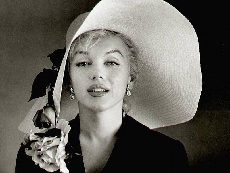 Fiesta de carnaval! -AÑOS 50!  Marilyn+Monroe+con+sombrero