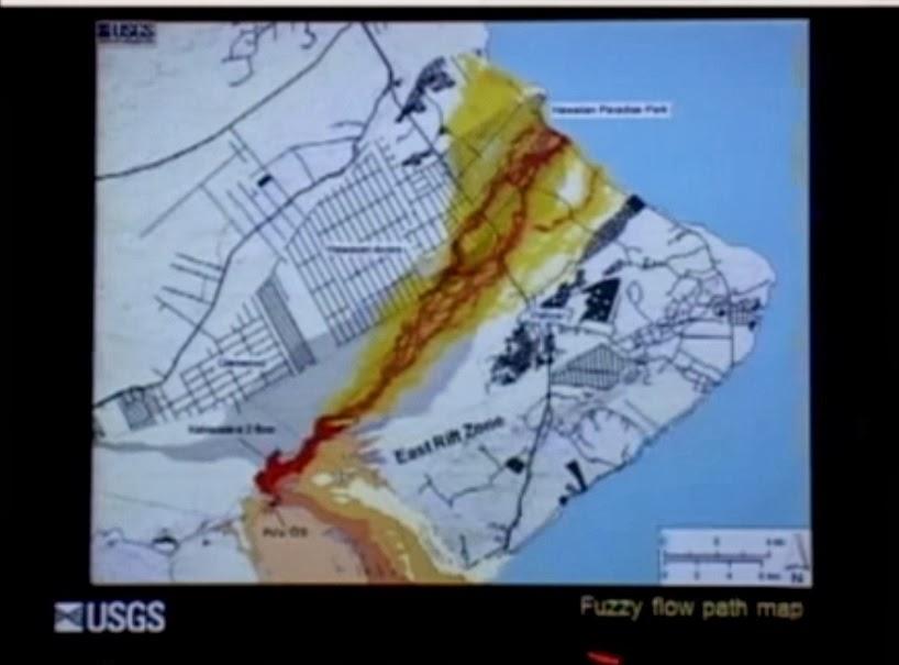 Hilo Living Blog Hawaii Puu Oo Lava Flow Goes A New