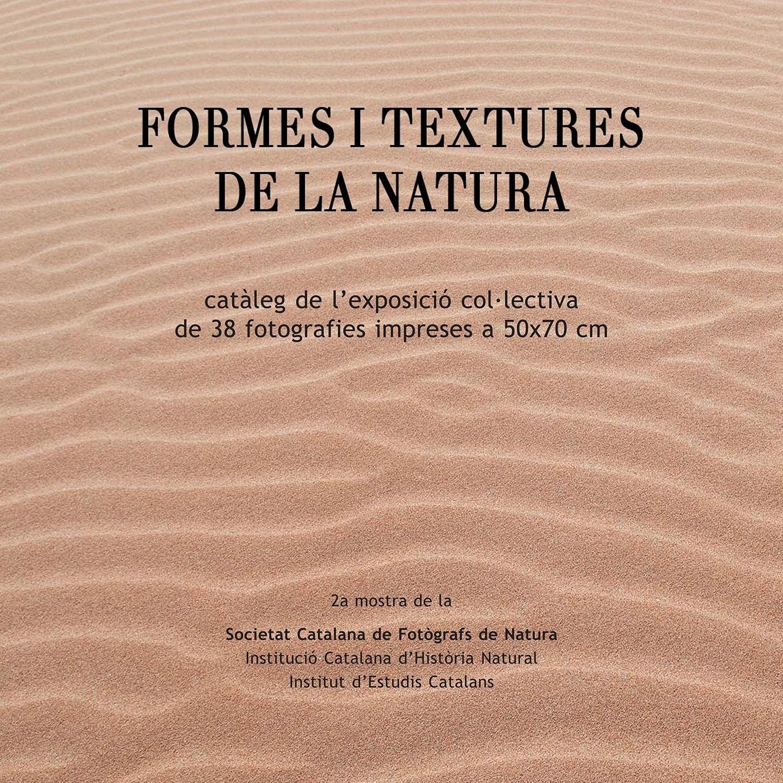 """Catàleg Exposició """"Formes i Textures de la Natura"""""""
