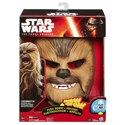 TOYS : JUGUETES - STAR WARS 7  Chewbacca | Máscara Electrónica - Electronic Mask Episodio 7 El Despertar de la Fuerza Episode 7 The Force Awakens Producto Oficial Película Disney 2015 | Hasbro B3226 | A partir de 5 años Comprar en Amazon España & buy Amazon USA