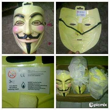 Jual Mask Anonymous V For Vandetta  Ori Denmark