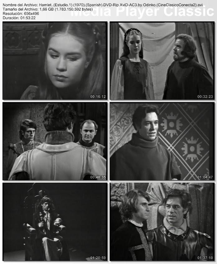 Hamlet 1970 (Estudio 1) | Secuencias de la obra de teatro