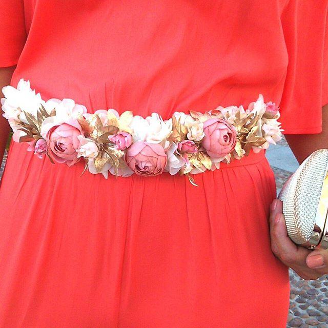 Cinturones de flores para un look infalible   A todo Confetti - Blog ...