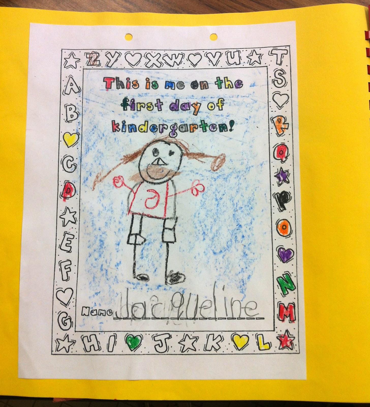 Kindergarten Memory Book Cover Ideas : Kfundamentals kindergarten memory books
