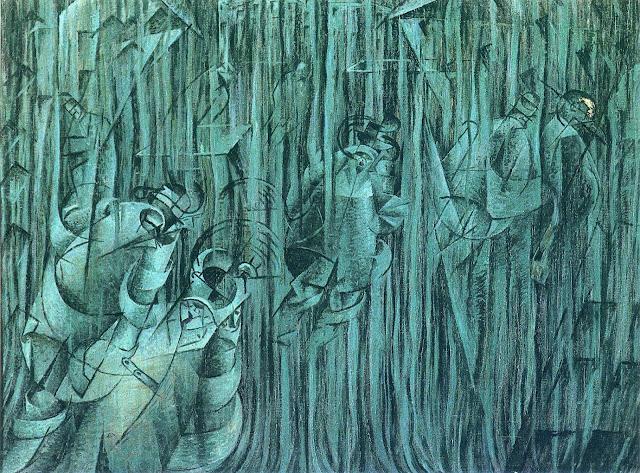 umberto boccioni,futurism,italian painter