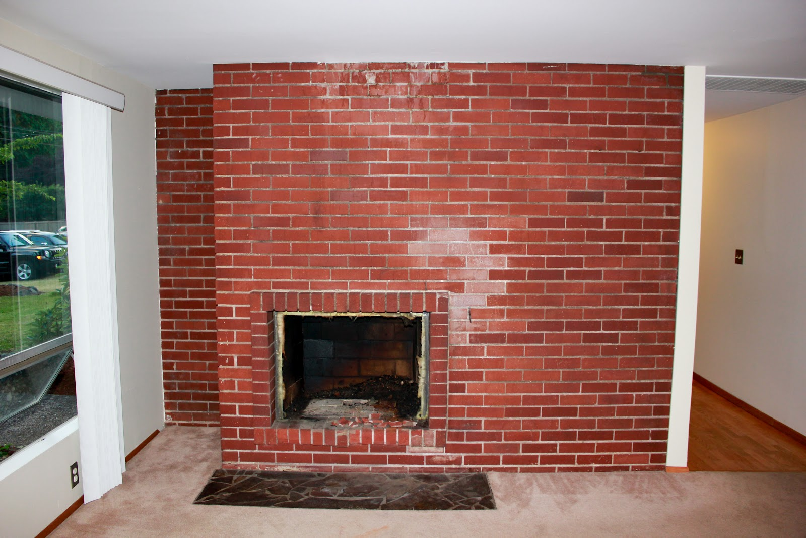 Kirsten sessions photography first new house project for Bricks painting design