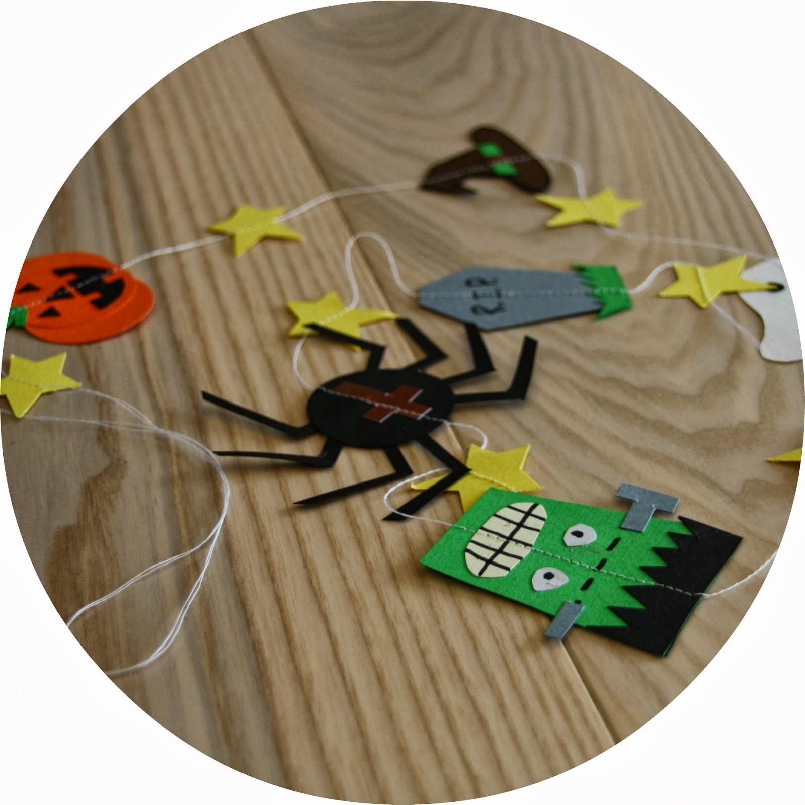 Halloween pynt (DIY)