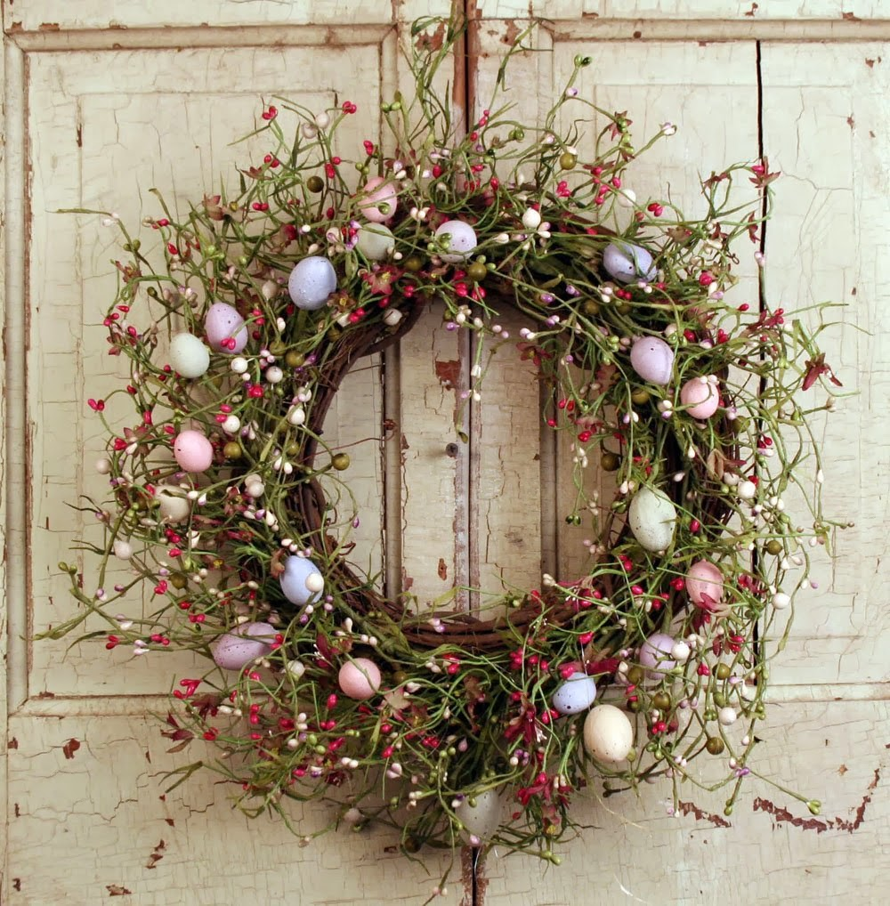 Easter Wreaths, part 4