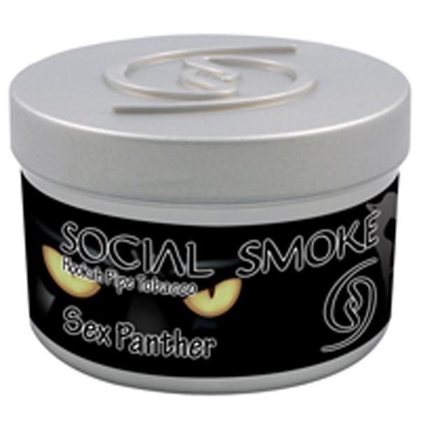 SOCIAL SMOKE 'SEX PANTHER' FLAVOR HOOKAH SHISHA TOBACCO