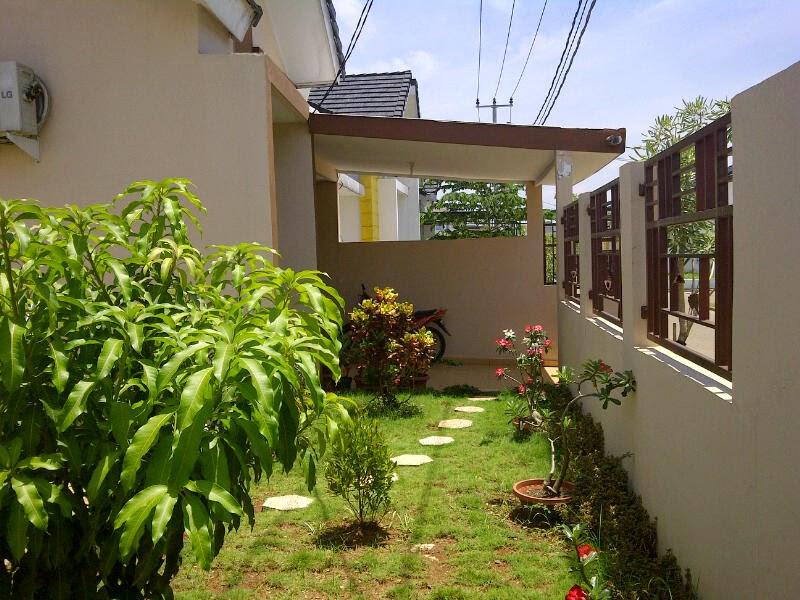 Model Desain Taman Samping Rumah