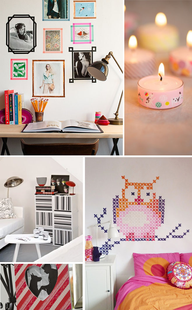 Decora tu casa con masking tape for Decora tu casa online