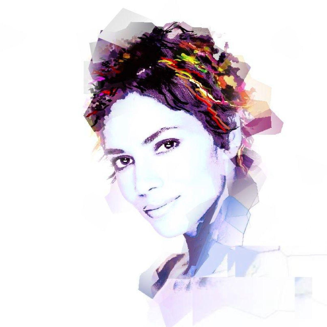 Pop art portrait drawing pop art portrait sketch halle berry pop art portrait drawing solutioingenieria Choice Image