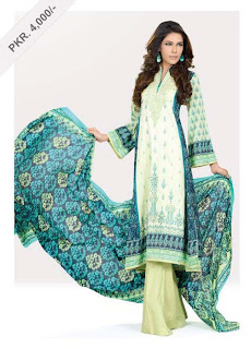 Eid festival lawn Summer Collection 2013 for Women with Price tag