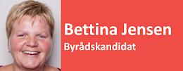 Bettina Jensen Byrådskandidat