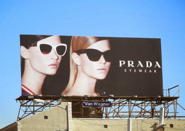 Prada Eyewear January 2014 billboard