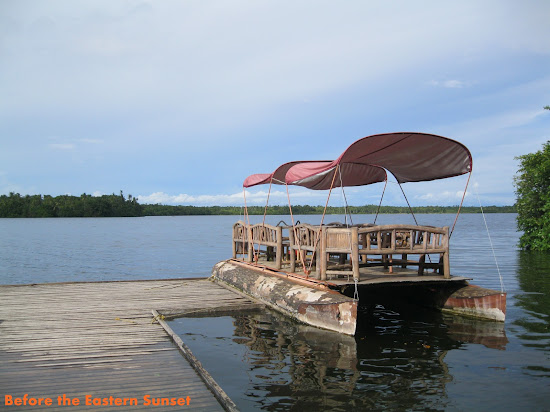 Camotes Island - Boat at Lake Danao