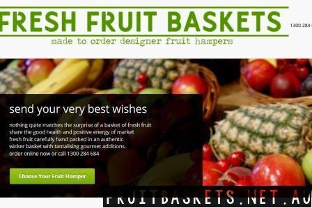 fresh fruit baskets website image