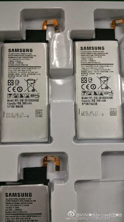 Batterie Galaxy S6 edge