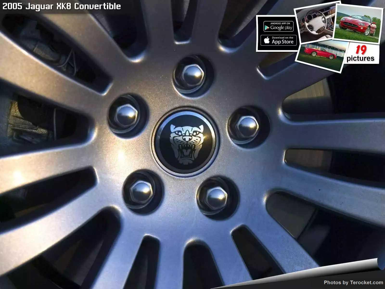 Hình ảnh xe ô tô Jaguar XK8 Convertible 2005 & nội ngoại thất