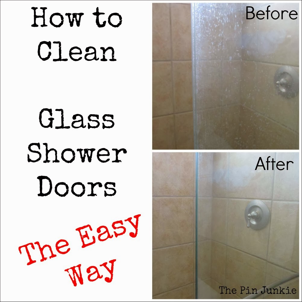 How To Clean Glass Shower Doors The Easy Way Diy Craft