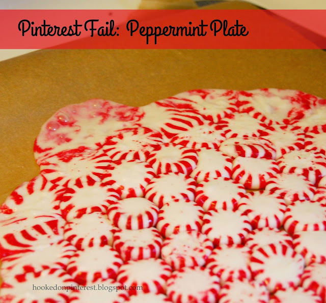 pinterest fail peppermint plate