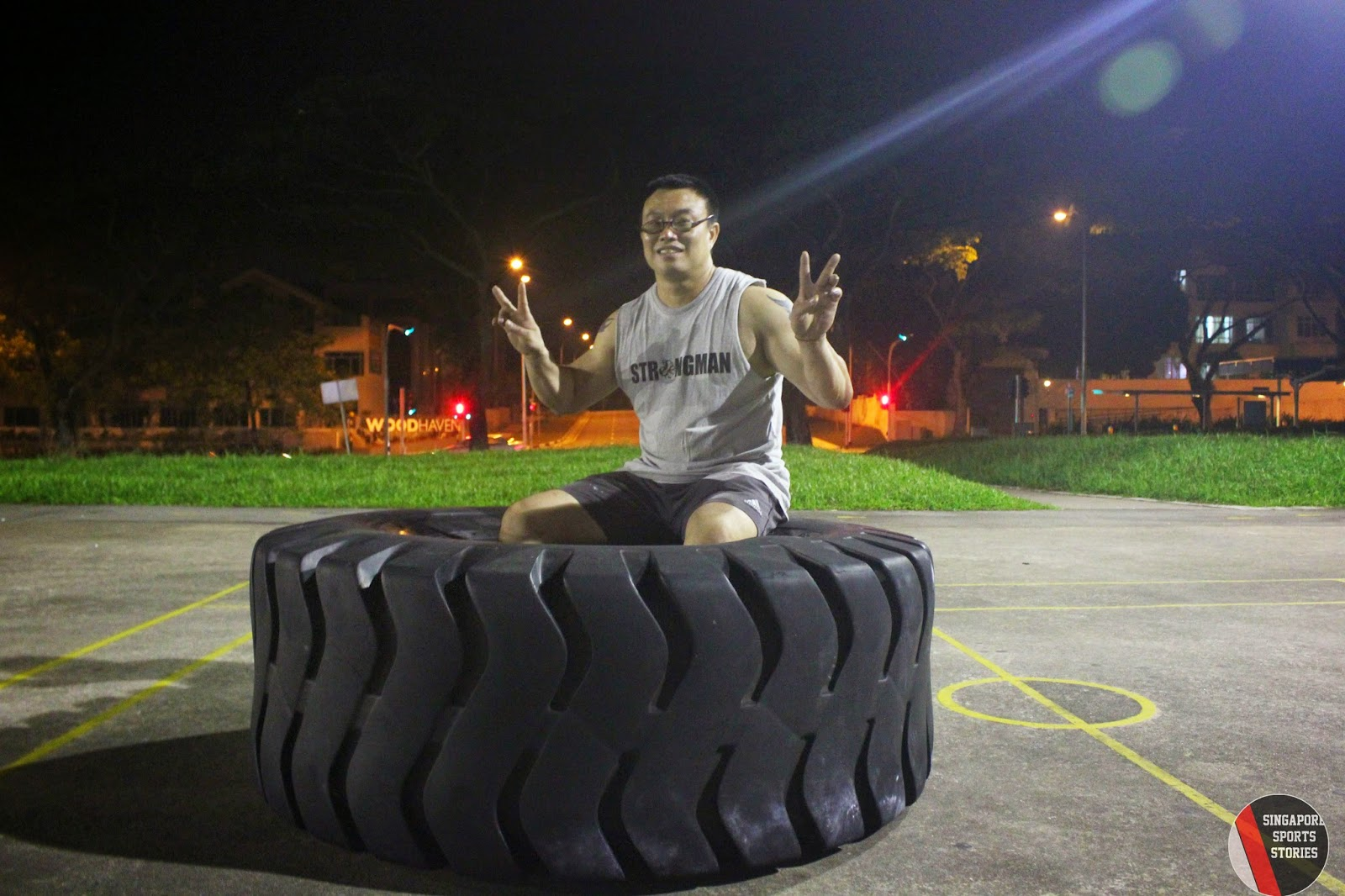 Goh Yeow Hui is one of the founding members of Singapore Strongman group, SG Titans