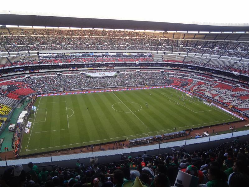 Top stadium in the world estadio azteca for Puerta 1 estadio azteca