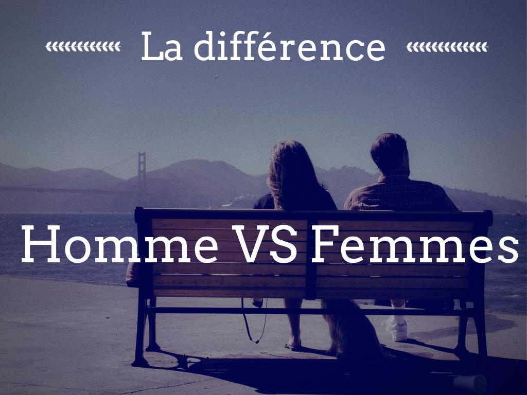 Hommes vs femmes: c'est pas mal ça!