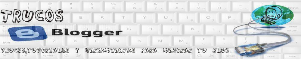 Trucos blogger