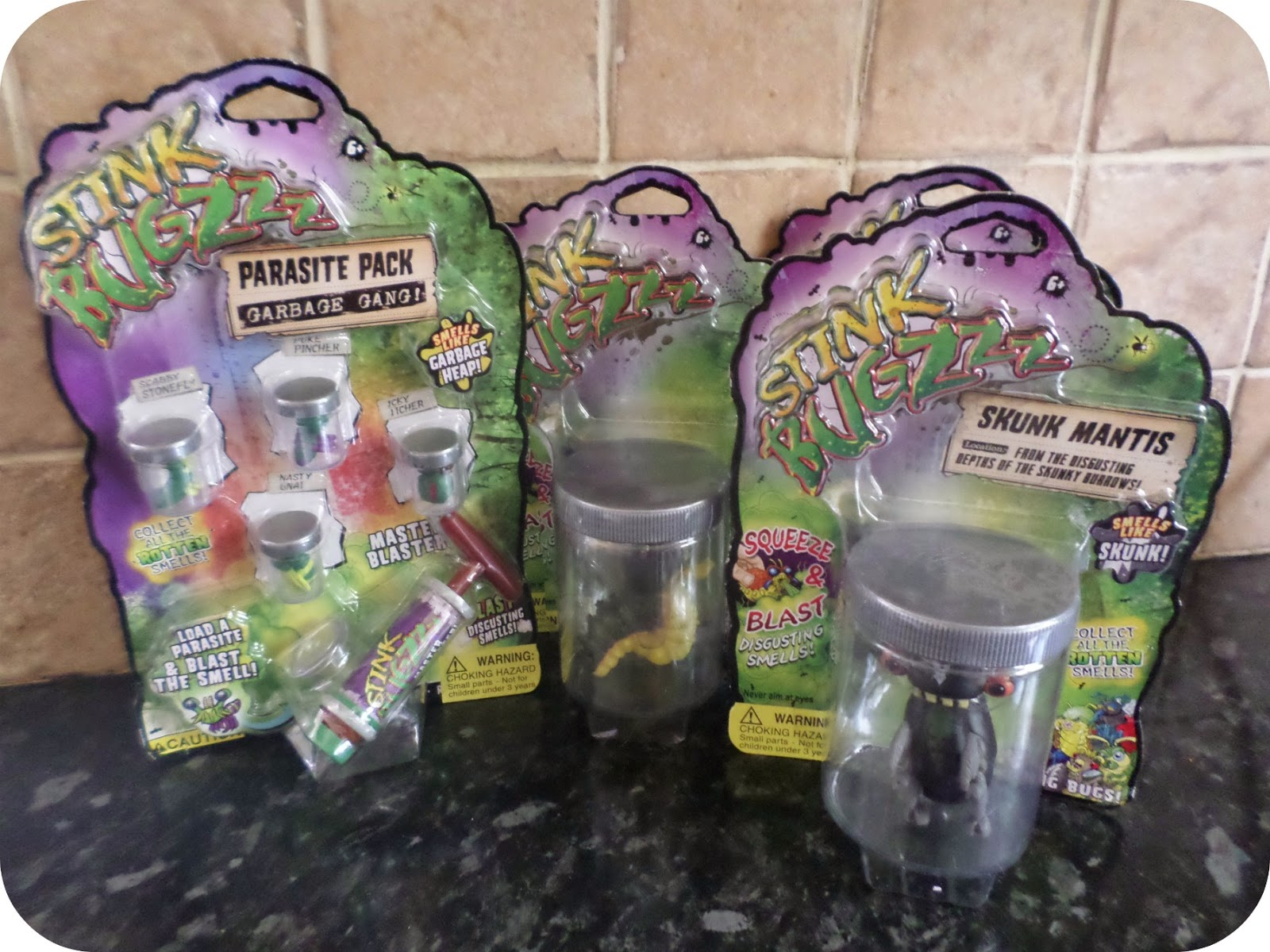Stink Bugz packs