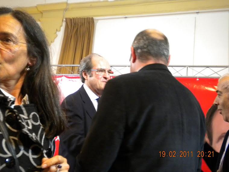 Con el Ministro Ángel Gabilondo