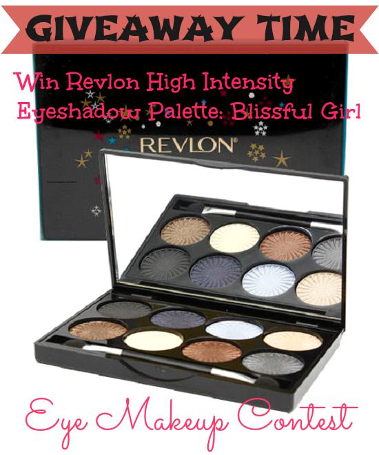 Eye Makeup Contest Win Revlon High Intensity Palette Blissful Girl+Eye Makeup Contest+ Revlon High Intensity Palette Blissful Girl+eyeshadow palettes+neutral eyeshadows+eye makeup tutorials