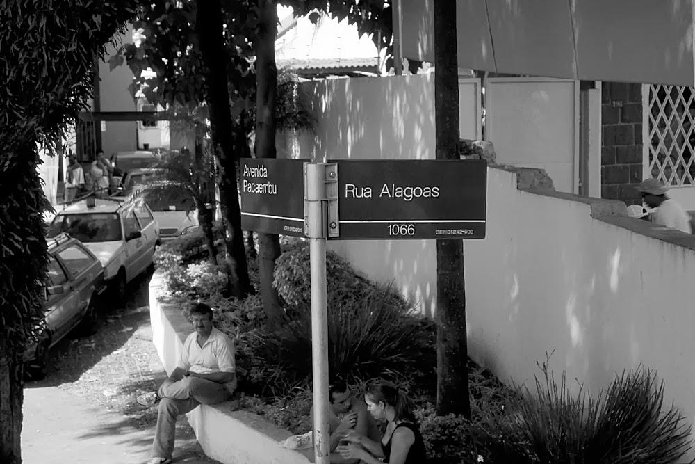 São Paulo - avenida pacaembu - rua alagoas