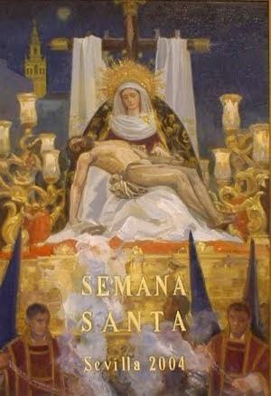 Cartel de la Semana Santa de Sevilla 2004