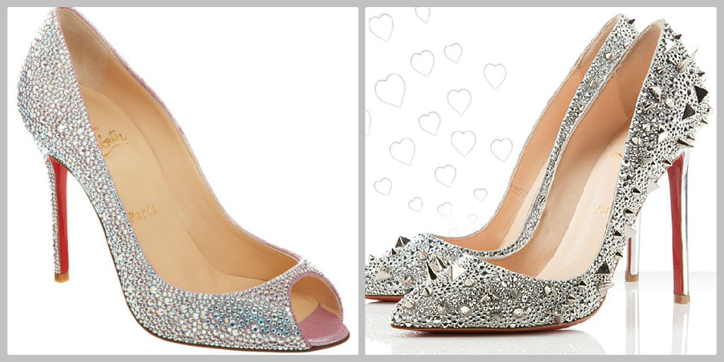Bling Wedding Shoes 10 Simple  christian louboutin