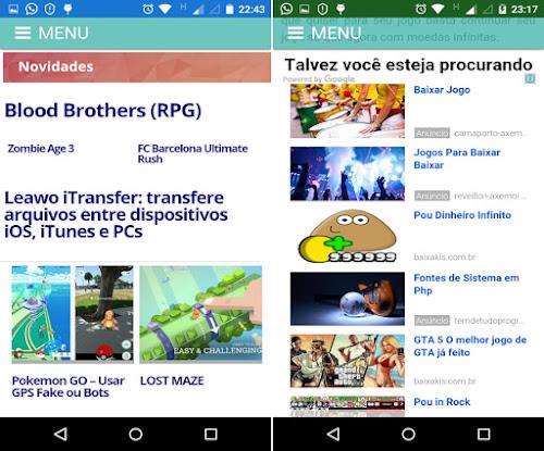 Baixakis News: o aplicativo tras dicas de como ganhar créditos rápido nos jogos