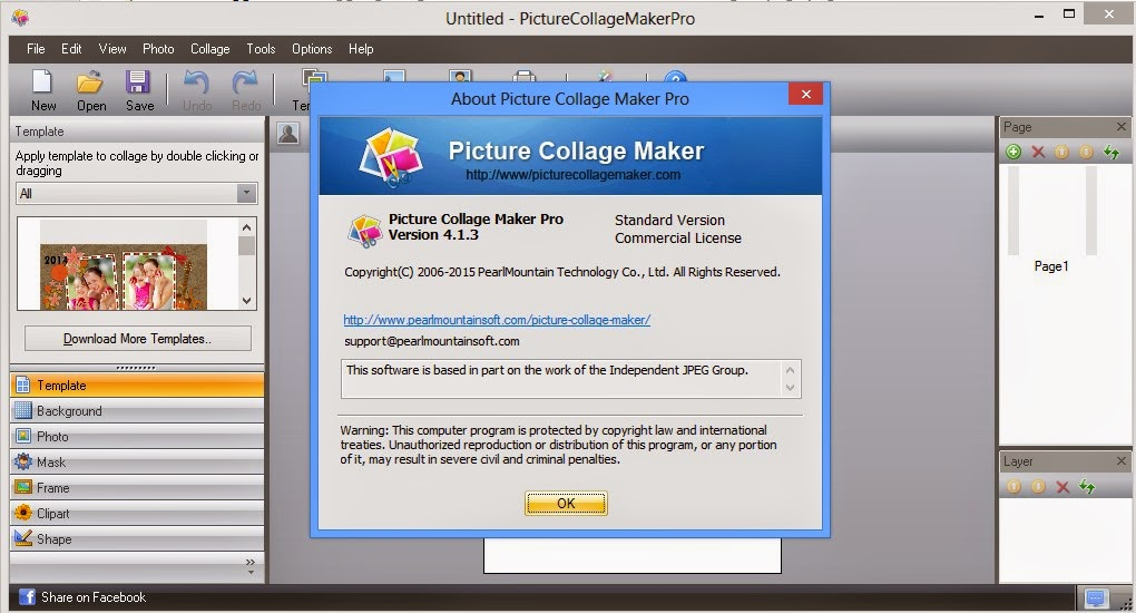 Picture Collage Maker Pro 4 1 3 โปรแกรมทำโปสการ ด หร อปฎ ท นสวยๆ
