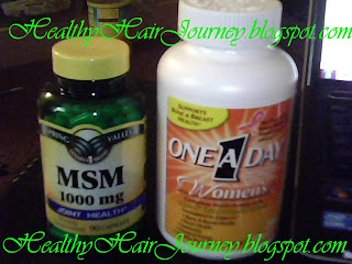 Hair Supplements, MSM, Multivitamins, Supplements for Hair