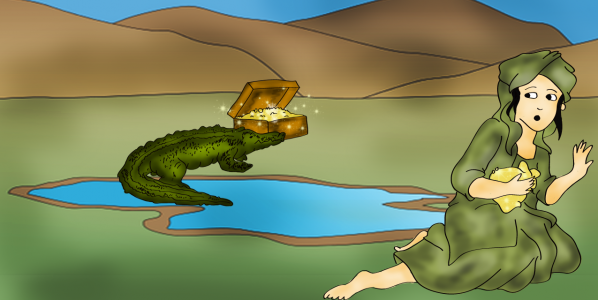 The Mugger Crocodile Lampung Folklore English Version Kebun