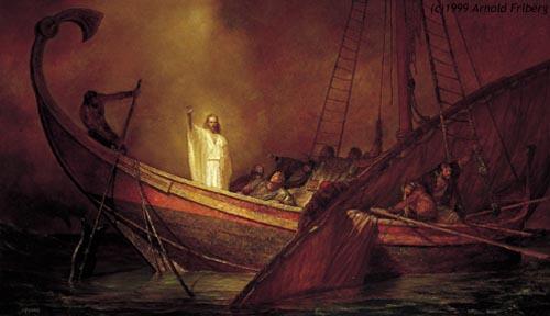 Alfa omega magazine jesus calma la tempestad san marcos 4 35 41