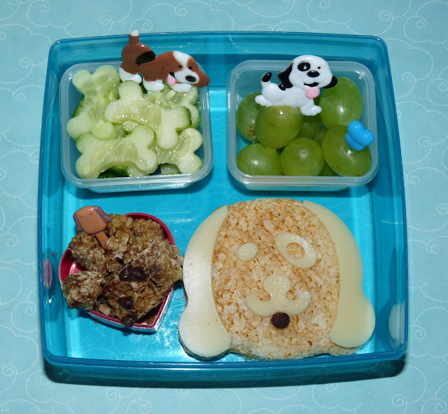cutezcute puppy bento