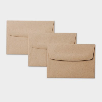 Note Card Envelopes