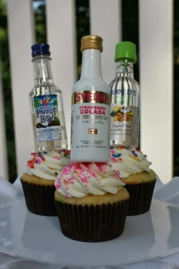 Bachelorette Party Cupcakes